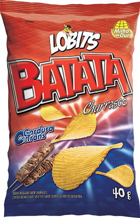 Batata Lobits 40g Churrasco